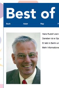 Geldmacherei mit dem populären Thema Denglisch bzw. die Unglaubwürdigkeit von Hans Rudolf Jost