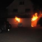Kapo Thurgau sucht Zeugen – Garagenbrand in Märwil