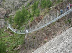 Der Europaweg konnte gerettet werden (Foto: Zermatt.ch)