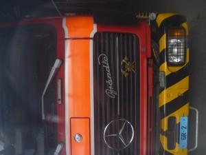 Lieferwagen in Chur angezündet