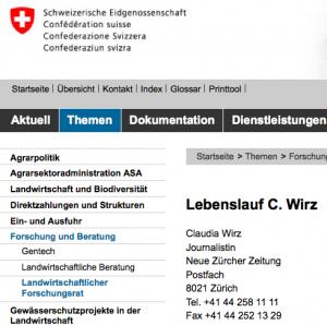 """Claudia Wirz vom BLW (Bundesamt für Landwirtschaft) bezeichnet das Bauernsterben als """"Segen"""""""
