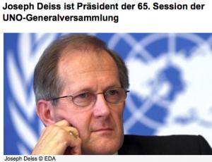 Warum schweigt Uno-Präsident und Gutmensch Joseph Deiß zu den Vorgängen in Libyen?