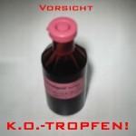 Polizei-Warnung vor K.O.Tropfen