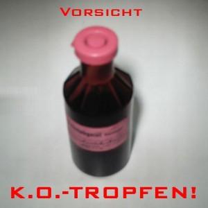 KO-Tropfen: Die Kapo Zug (Zuger Polizei) warnt junge Festbesucher