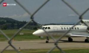 Ein Bundesrats-Jet wird ersetzt (Archivfoto SRF)