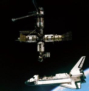 Das Shuttle-Mir-Programm als Vorläuferprojekt der ISS