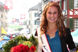 Apfelkönigin Thurgau 2012 gewählt +++ Es ist Nadja Anderes