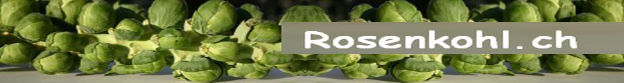 Rosenkohl.ch - eine Webseite über das Wintergemüse...