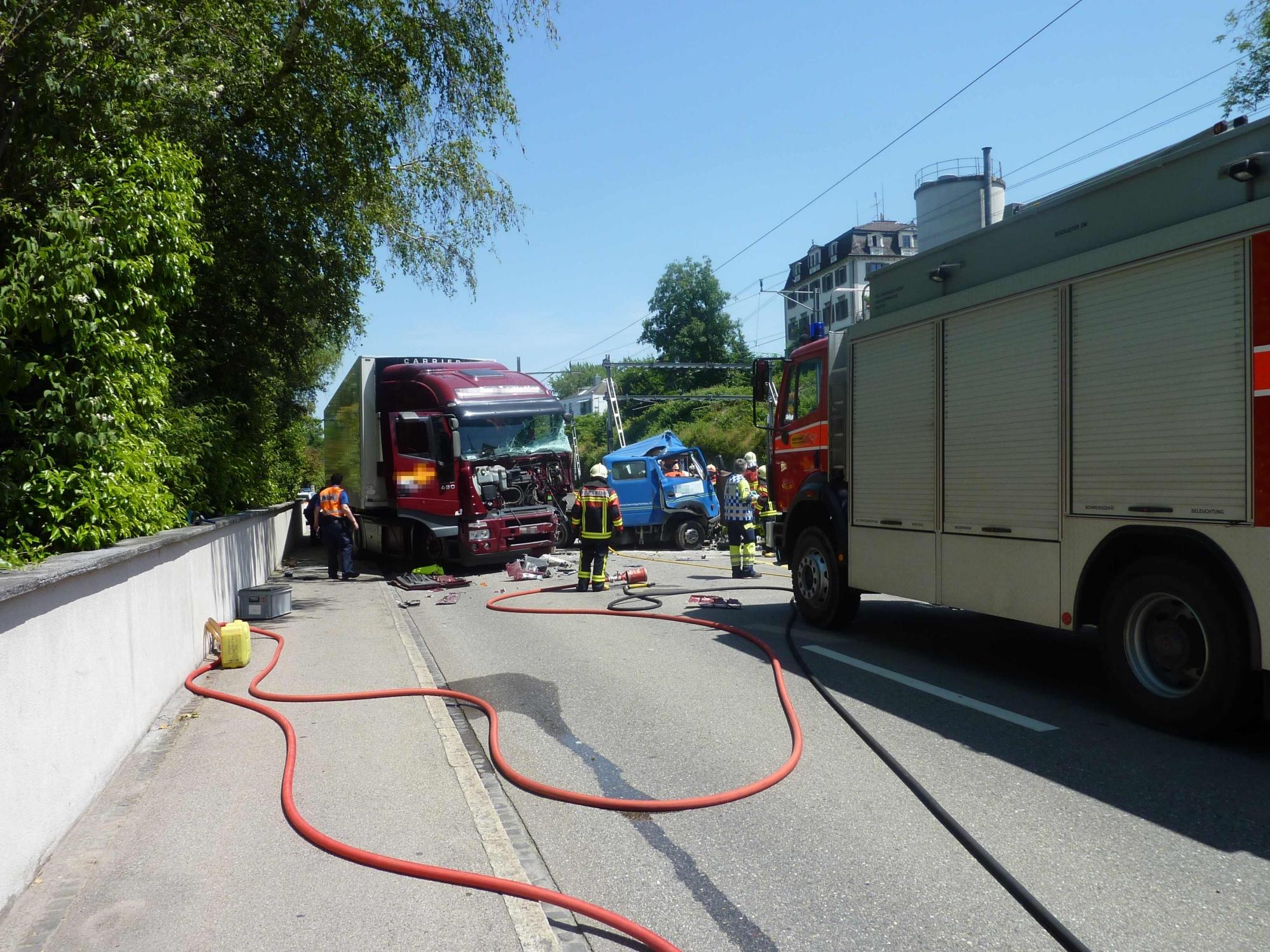 Tödlicher Unfall in Rorschacherberg (Polizeifoto, Polizeimeldung: Kapo St. Gallen)
