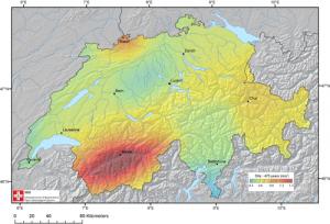 Gefährdungskarte des Schweizerischen Erdbebendienstes: Basel und das Wallis sind im Fokus. Braucht es wirklich keine schweizweit obligatorische Erdbebenversicherung für alle Hausbesitzer?