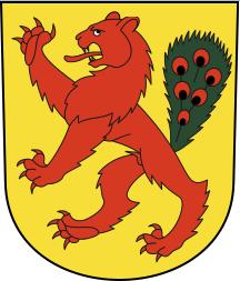 Brand bei SwissWax in Fällanden (Wappen der Gemeinde)