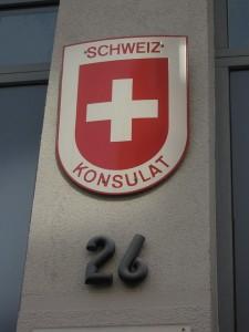weniger Schweizer Konsulate