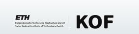 KOF Konjunkturbarometer: fällt auf den April-Stand zurück