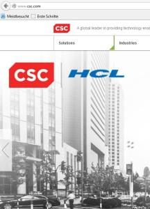 CSC / HCL: Bund entzieht Auftrag