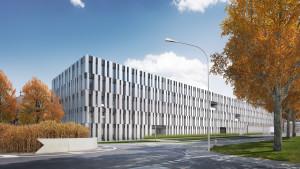 Neuesvewaltungsgebäude in Köniz bezugsbereit. (Modellbild)