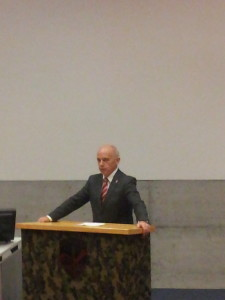 Bundesrat Ueli Maurer besucht die Grenzwachtregion Tessin.