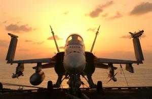 Absturz einer F/A-18 in Frankreich. (Symbolbild)