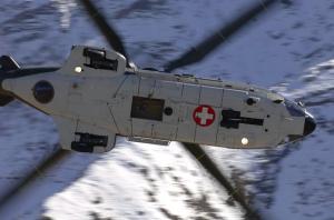 Unfall mit Super-Puma am Gotthard +++ 2 Tote (Archivfoto: VBS)