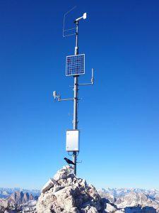 Der ehemalige Sendeturm in Beromünster wird zu einer professionellen Wettermeßstation (Symbolbild: Umweltmeßtechnik.ch)