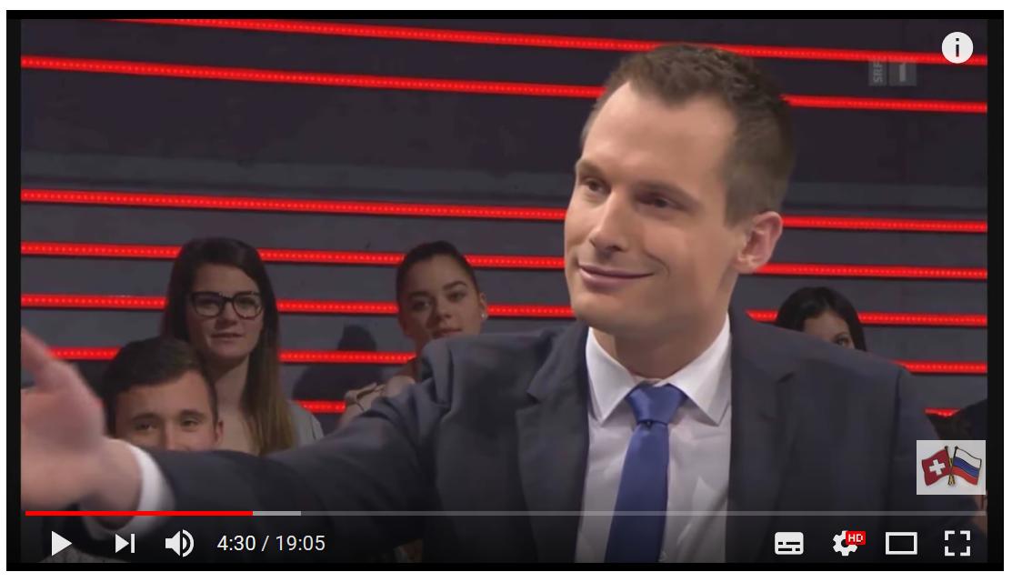 Arena-Moderator Jonas Projer versuchte Dr. Daniele Ganser ins Lächerliche zu ziehen
