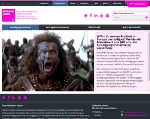 Operation Libero und Braveheart / Mel Gibson
