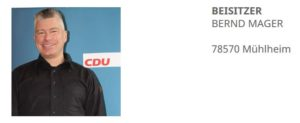 Schutzsuchender schlägt CDU-Politiker